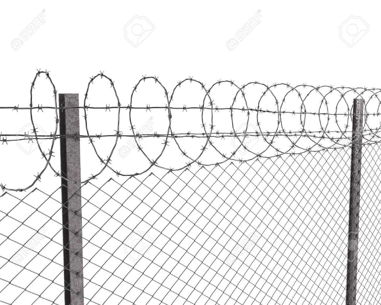 Fence: awesome barbed wire fence post Barbed Wire Fence.