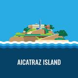 Coast Prison Island Stock Illustrations.