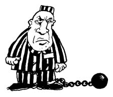 Showing post & media for Cartoon prisoner clipart.