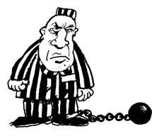 Showing post & media for Cartoon prisoner clipart.