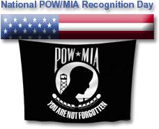 Free POW/MIA Clipart.