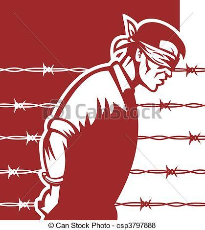 Prisoner war Stock Illustrations. 803 Prisoner war clip art images.