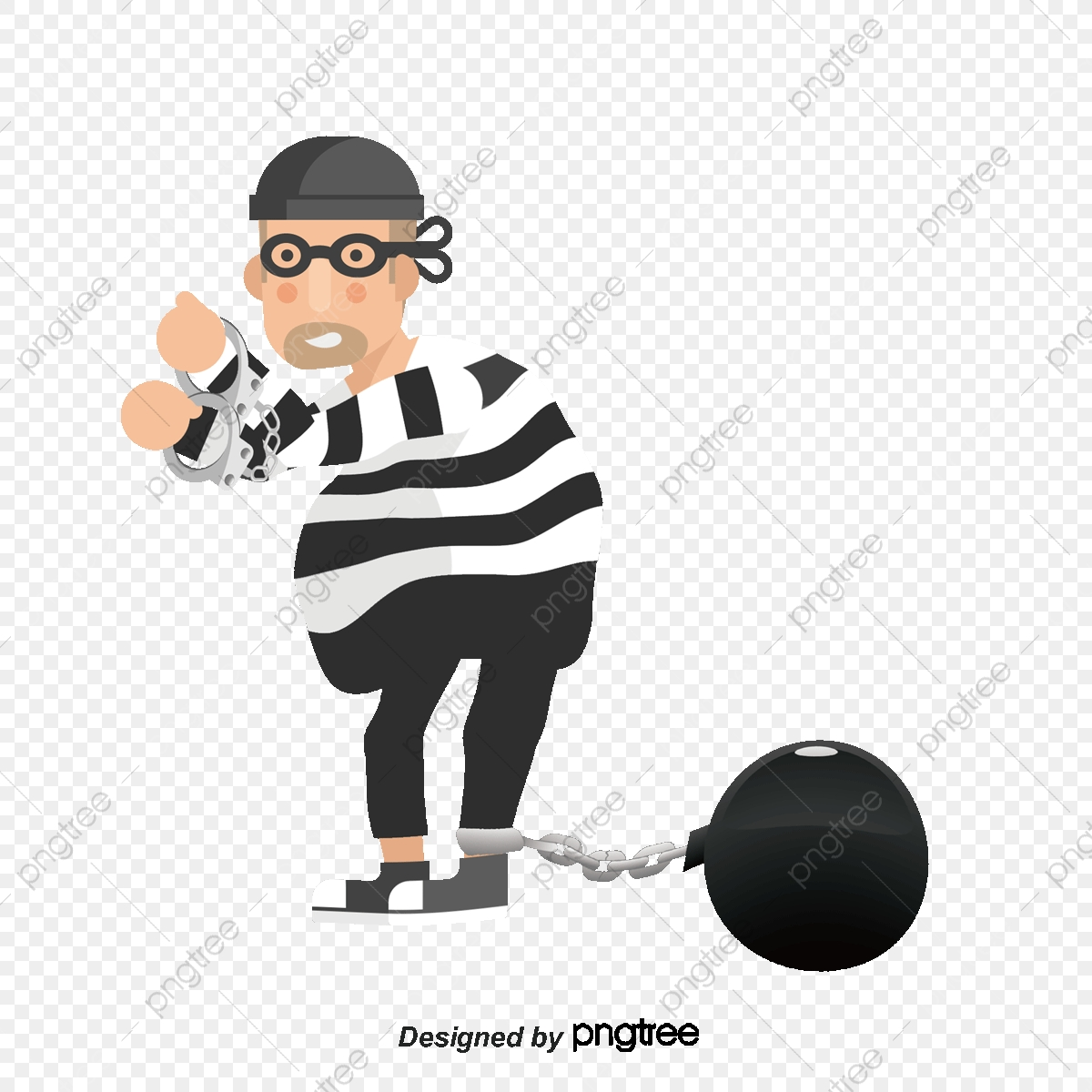 Prisoner, Convict, Prison PNG and Vector with Transparent.