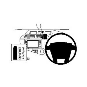 ClicOn No Holes Dash Mount for Toyota Prius C 12.