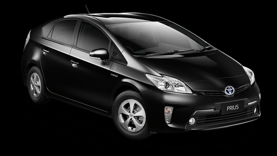 Toyota Prius transparent PNG.