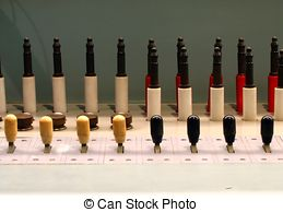 Picture of Telephone Switchboard.