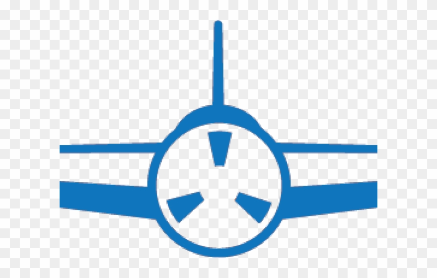 Aviation Clipart Single Engine Plane.