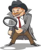 Private eye Clipart Vector Graphics. 622 private eye EPS clip art.