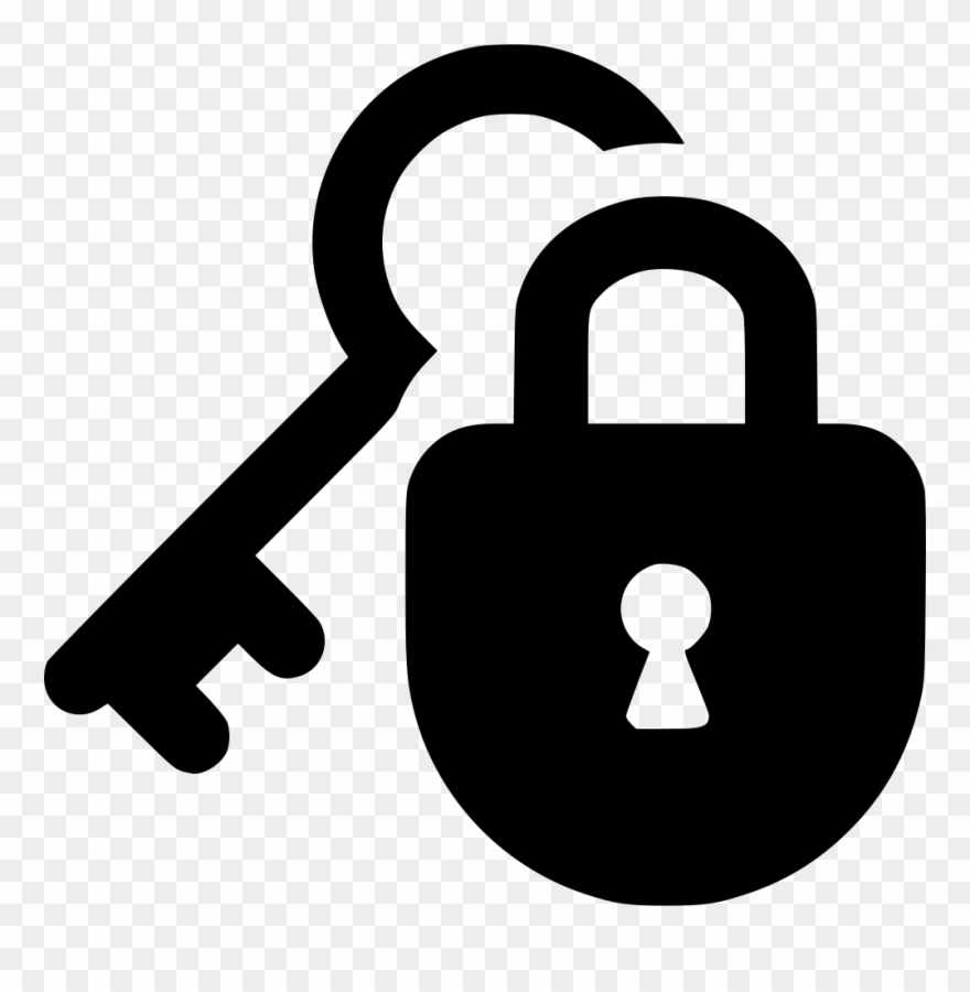 Lock Protect Guard Key Security Private Svg Png Icon.