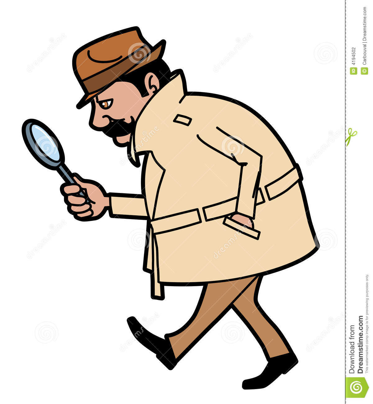 Private Investigator Clipart.