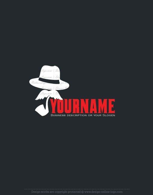 Exclusive Design: Private detective Logo + Compatible FREE.