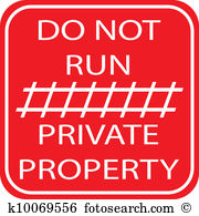 Private property Clipart Royalty Free. 1,965 private property clip.