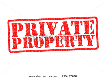 Private Property Stock Photos, Royalty.