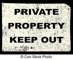 Private property Stock Illustrations. 3,719 Private property clip.