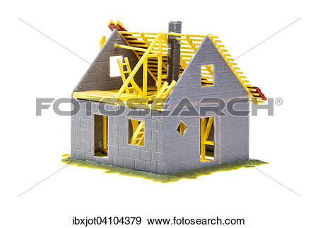 Stock Photograph of Home symbol, home.