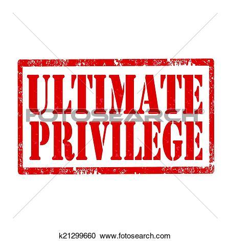 Clip Art of Privilege.