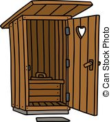 Privy house Stock Illustrations. 7 Privy house clip art images and.