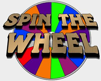 Spinning Prize Wheel Clipart.