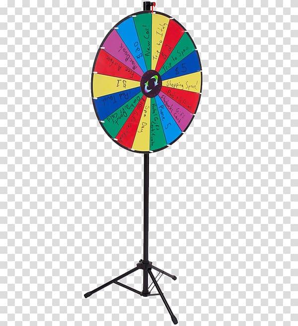 Game Light Wheel Color Slot machine, prize wheel transparent.