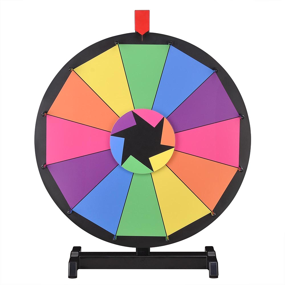 Details about Tabletop Spinning Prize Wheel Fortune Carnival Game Portably  Trade Show Display.