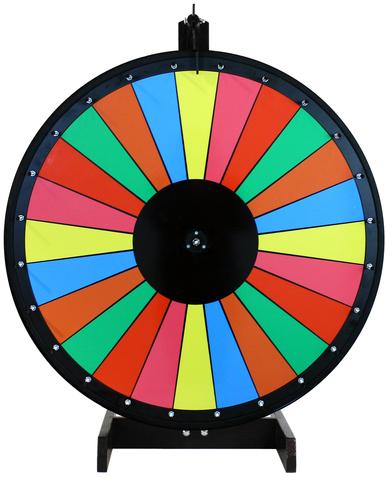 30 Inch Multicolor Dry Erase Prize Wheel.