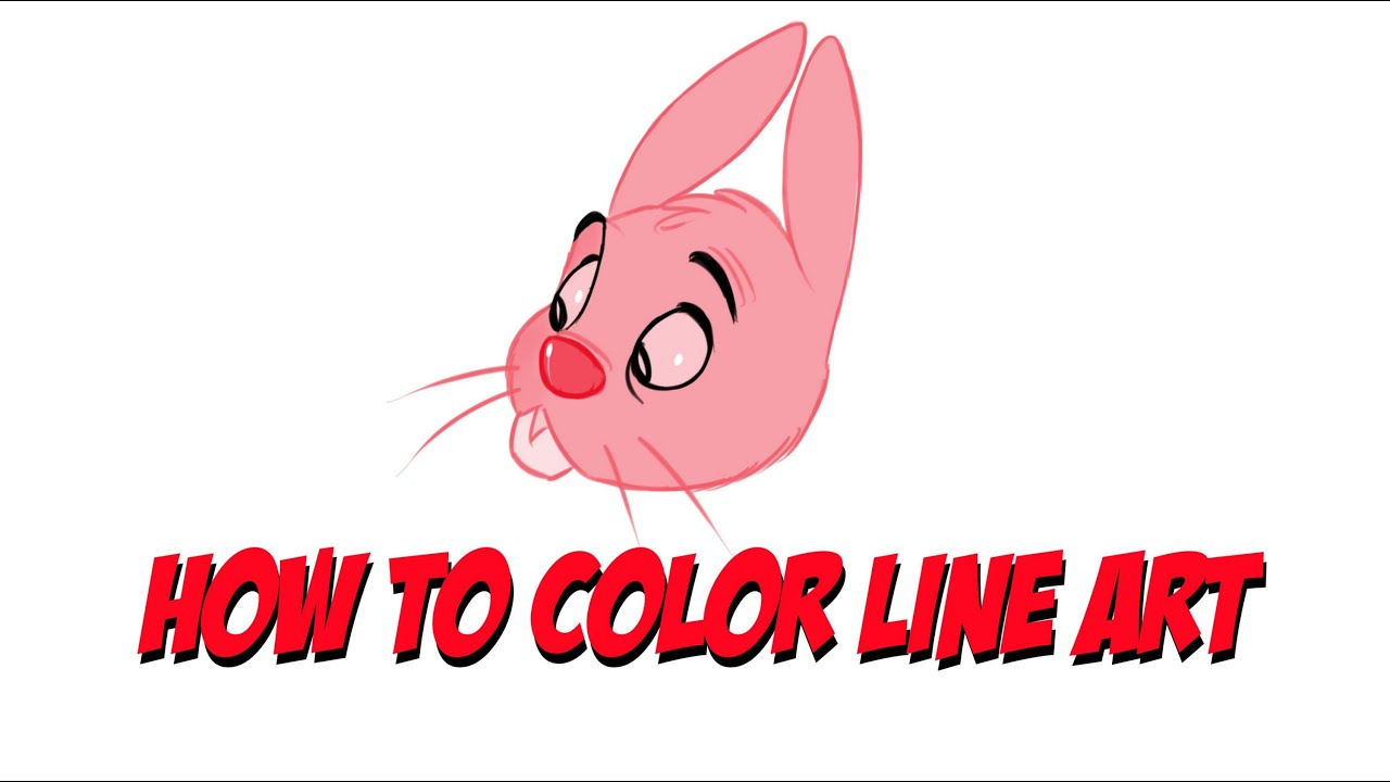 Sketchbook Pro Tutorial : How to Color Line Art.