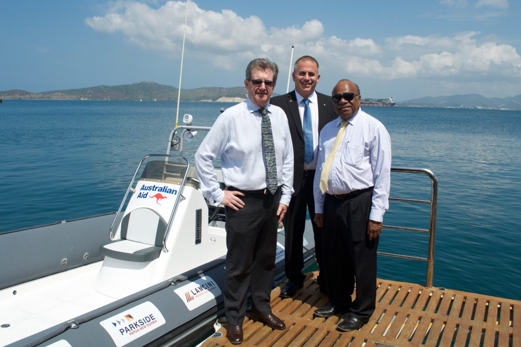 Boats Donated From Australian Aid Set To Strengthen.