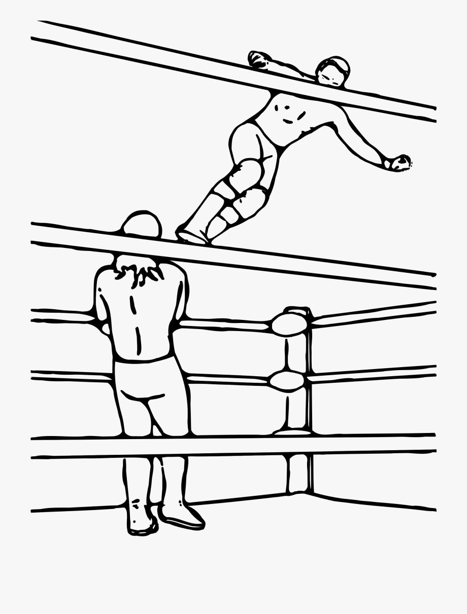 Pro Wrestling Clipart #69035.
