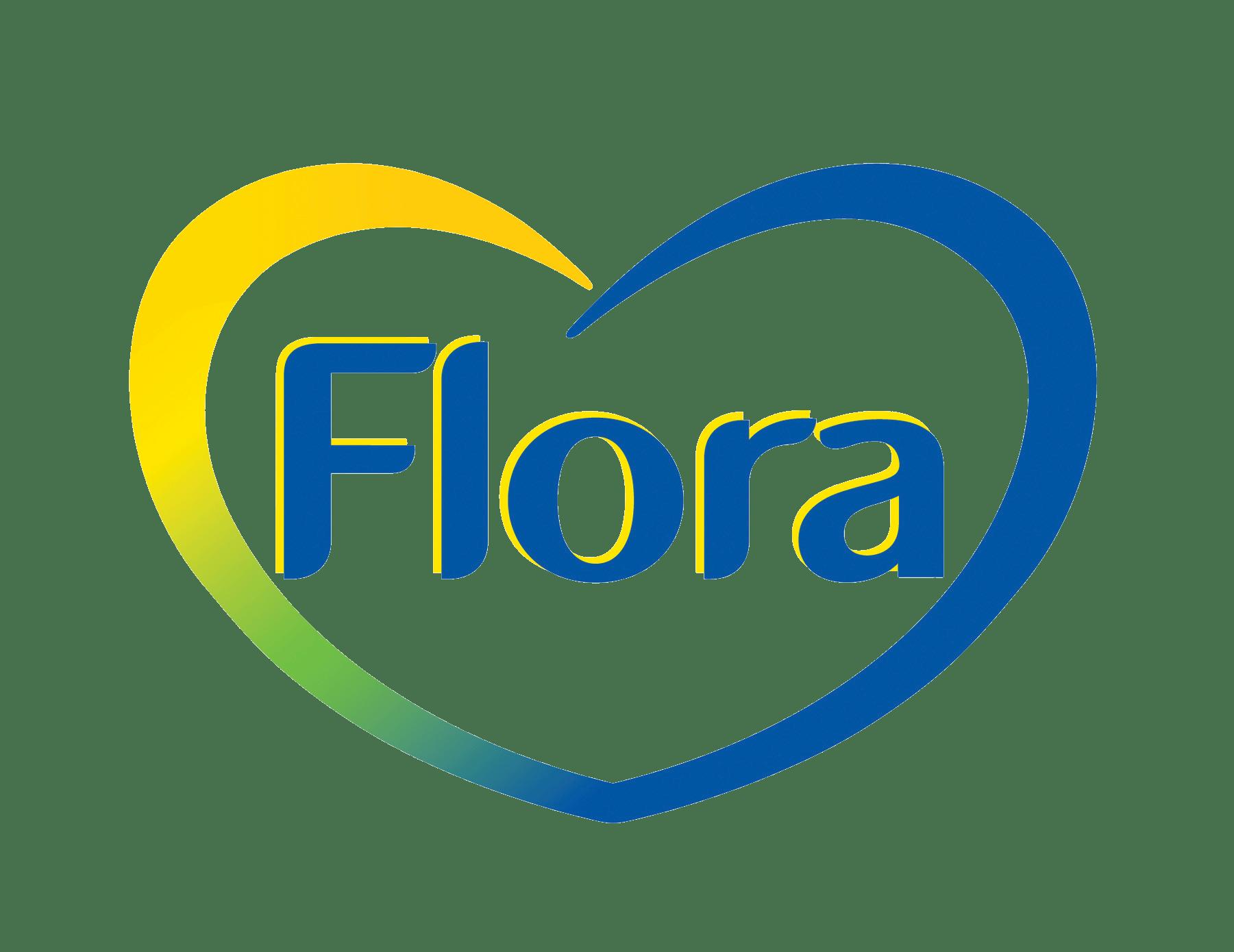 Flora Logo transparent PNG.