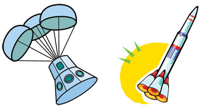Rocket Drawings.