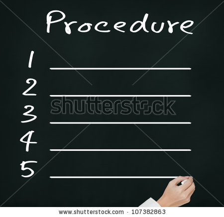 Business Procedures Stock Images, Royalty.