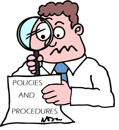 Policy And Procedure Clipart.