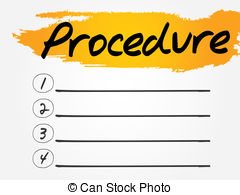 Procedure Illustrations and Clip Art. 8,264 Procedure royalty free.
