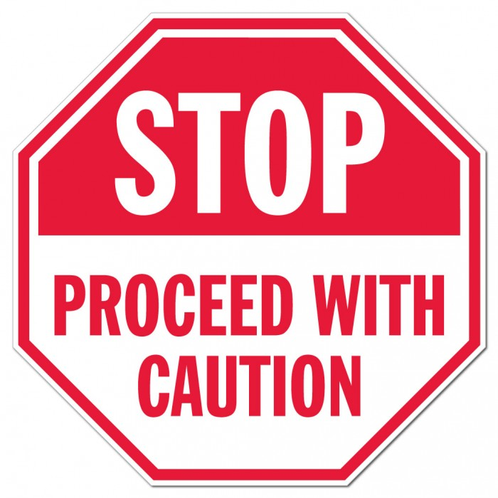 Proceed with caution clipart - Clipground