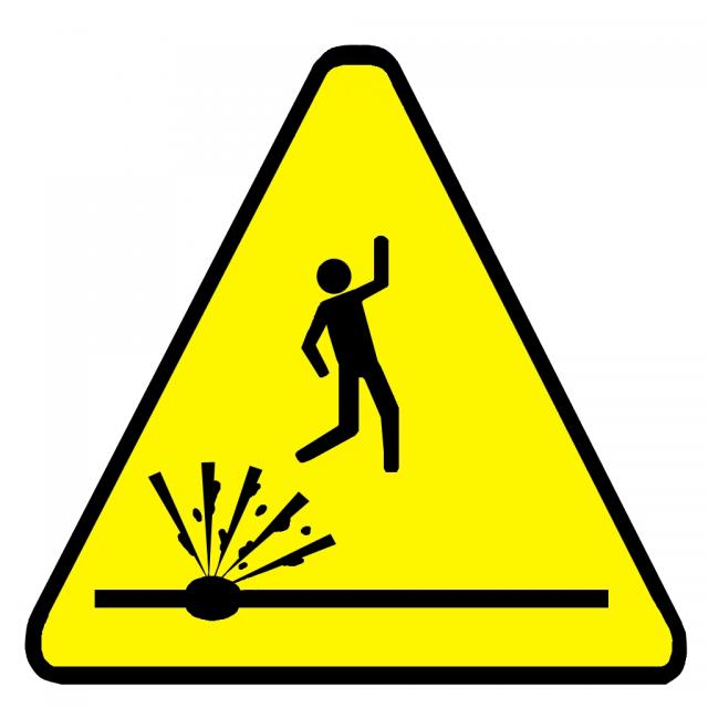 Gallery For > Proceed with Caution Clipart.