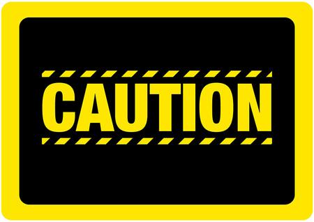 Caution Sign Floor Sign.