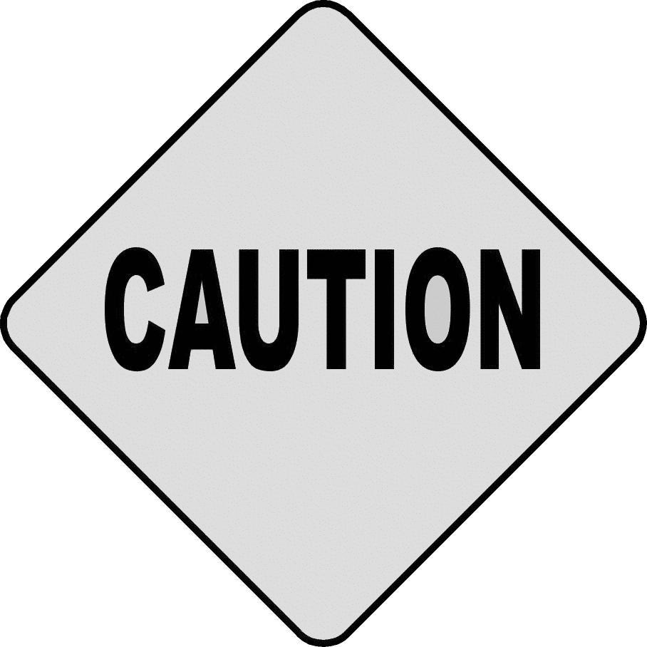 Caution Cliparts.