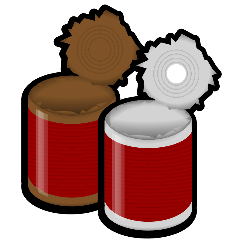 Can Food Clipart.