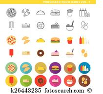 Processed food Clip Art Vector Graphics. 2,426 processed food EPS.
