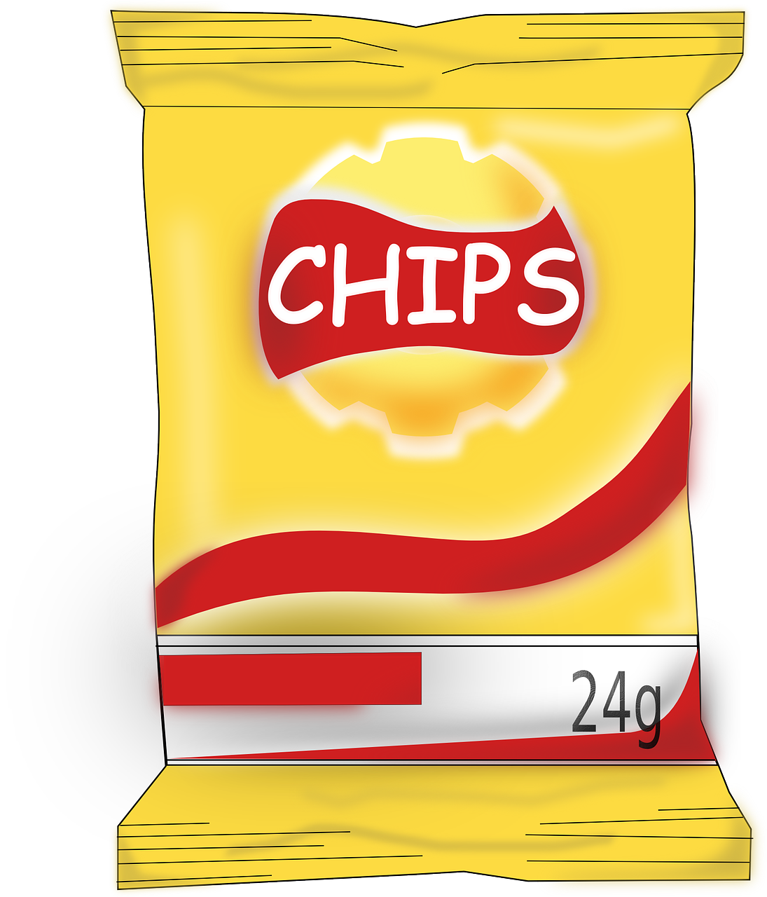 processed food potato chips.