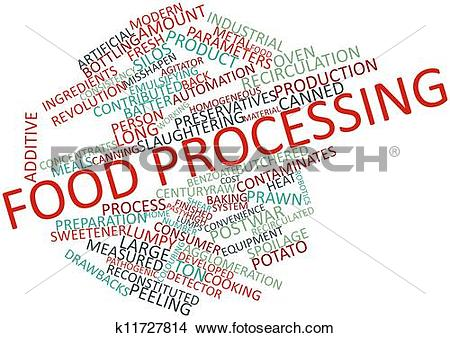 Drawings of Food processing k11727814.