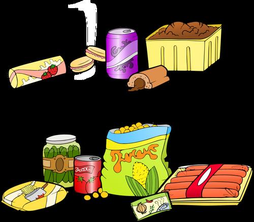 Processed food.