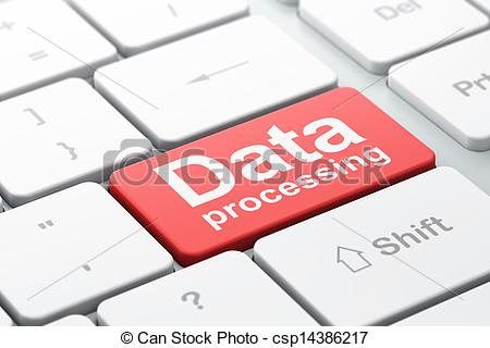 Data Processing Clipart.