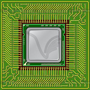 Processor Clip Art.