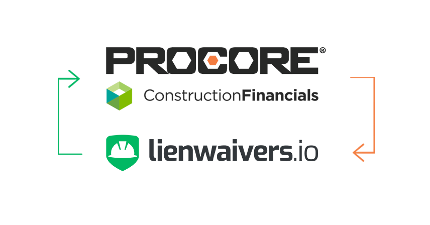 Manage lien waivers in Procore Construction Financials.