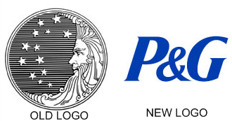 The Procter & Gamble Logo Then and Now.