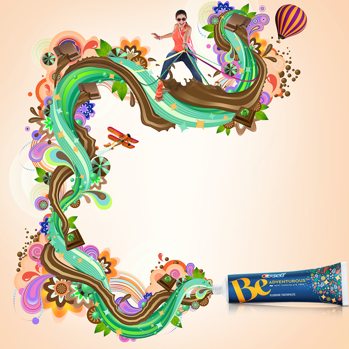 Procter & Gamble's Crest Be Toothpaste Campaign on Behance.