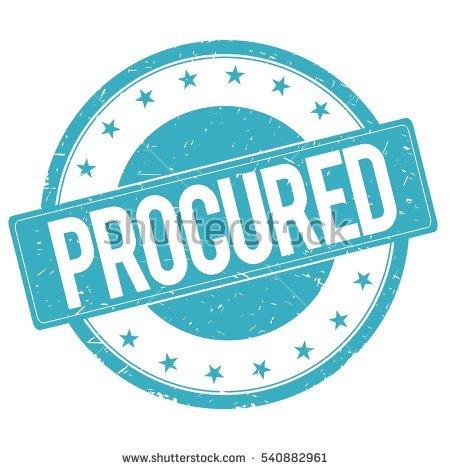 procurement.