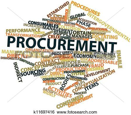 Stock Illustration of Procurement k11697416.