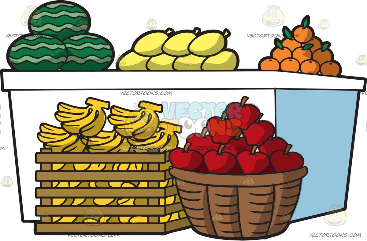 A Fruit Stand.